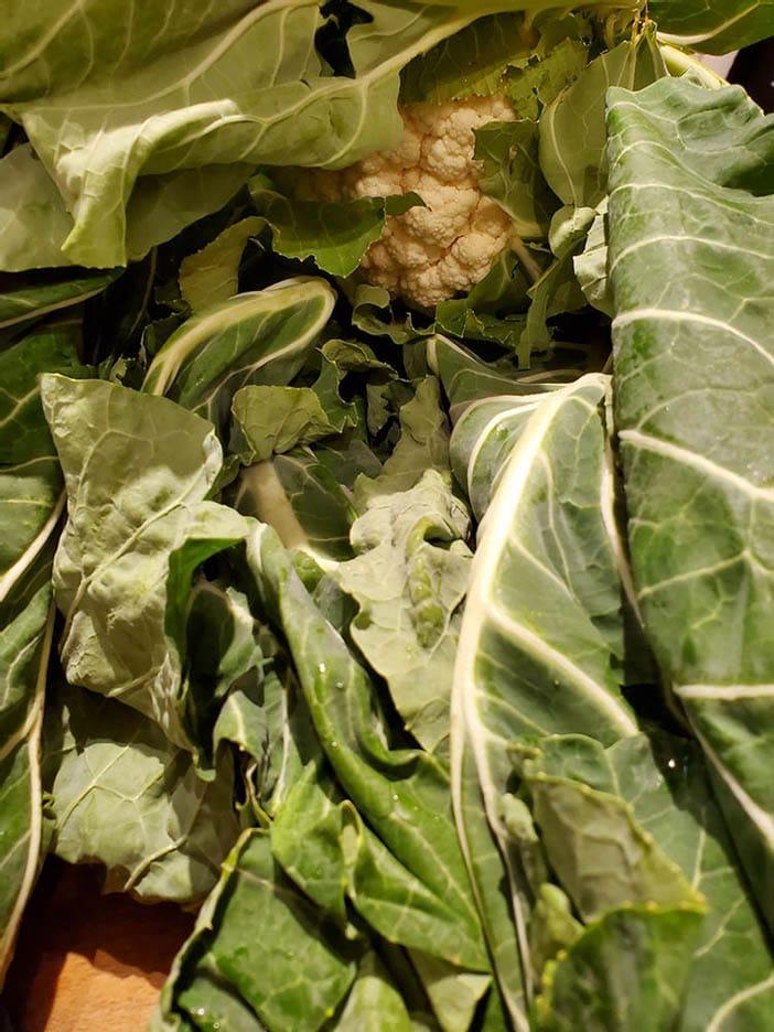 Leafy cauliflower