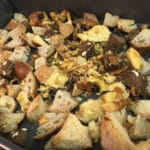 bread scraps and stale bread can be used up in stuffing