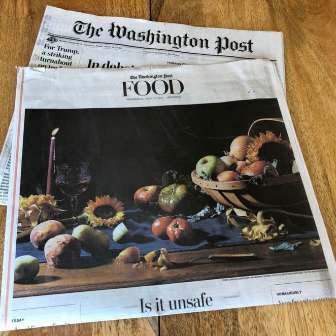 Print edition of The Washington Post article by Rachael Jackson