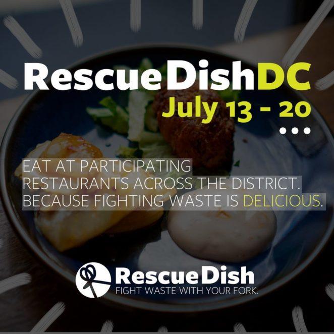 RescueDishDC poster