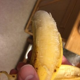 A transluscent banana is still OK to eat