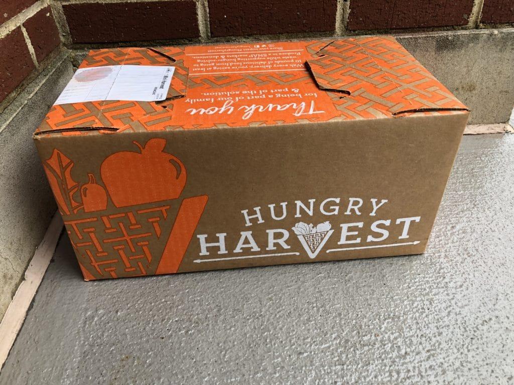 Hungry Harvest box